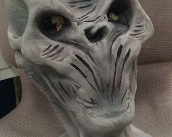 Doctor Who Silence latex mask
