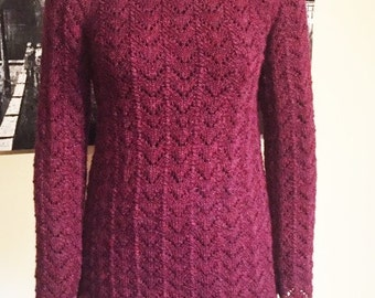 PATTERN ONLY - Arched Lace Pullover