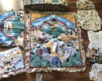 Judi's Noahs Arc Nursery complete Set