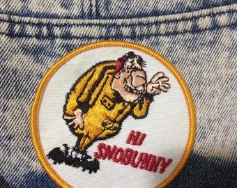 Hi Snobunny - Vintage Patch