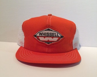 Whissell Contracting Retro Trucker Cap Hat - adjustable back