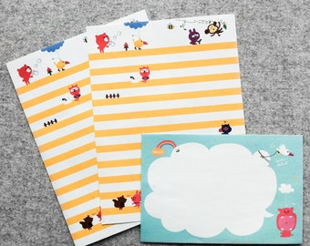 LAST CHANCE SALE! Cute paper set #6 | Cute Stationery