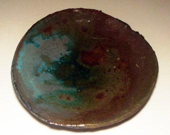 Salt-Fired Plate #021112415