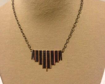 Metal Bars Necklace