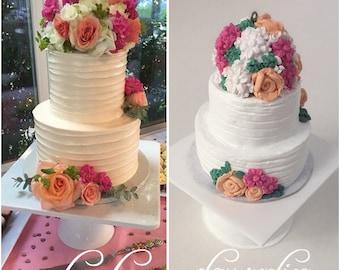 Items Similar To Wedding Cake Replica 1st Anniversary
