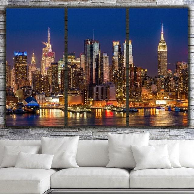 new york city canvas wall art quality canvas by bigapplecanvas. Black Bedroom Furniture Sets. Home Design Ideas
