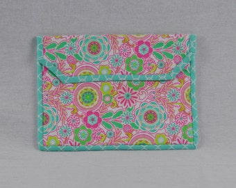Pink Turquoise iPad Tablet Case