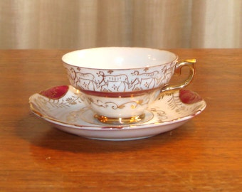 Vintage Tea Cup, Saucer, Demi-Tasse cup? EFFCo Imports