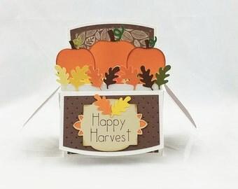 Handmade Fall Thanksgiving Harvest card 2