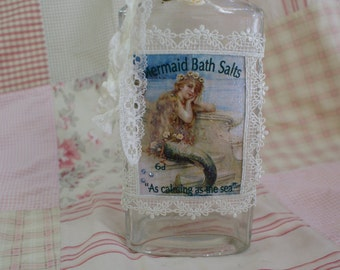 Bath Salts bottle