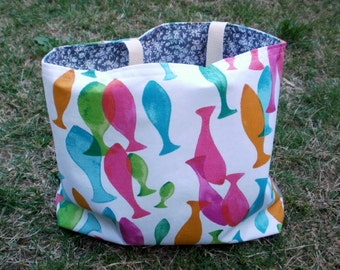 bag-tote bag - sea theme