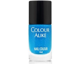 611 Fly High - holographic-neon nail polish