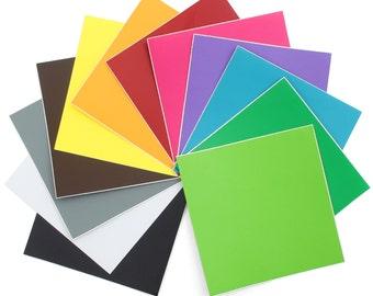Oracal 631 Matte Vinyl 12 - 12 x 12 - Assorted Colors Pack #2