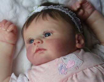 Adorable silicone vinyl baby girl