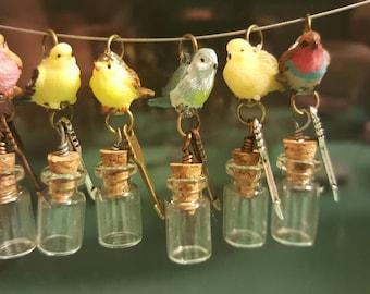 Messenger Bird Charm