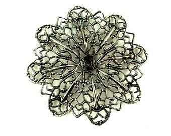 Lg. Scalloped Flower - 45mm