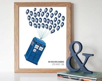 Dr Who Fingerprint Keepsake