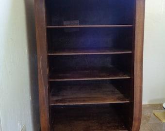 Antique Wooden Music Sheet/Album Cabinet