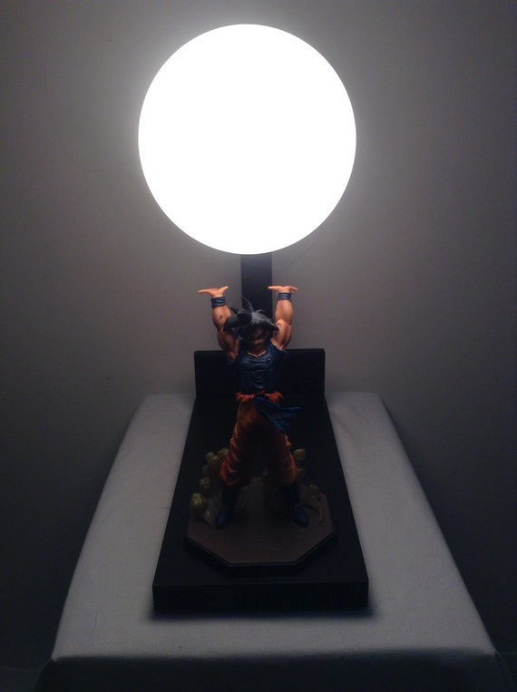 The Original Diy Goku Spirit Bomb Lamp By