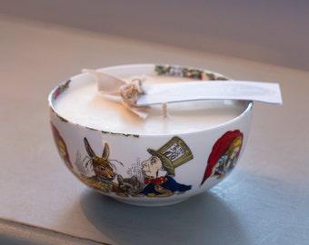 Alice In Wonderland Sugar Bowl Candle