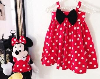 Mini mouse BIG BOW Dress !!!