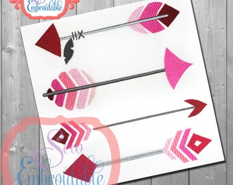 Just Arrows Set 2  - For Machine Embroidery -  INSTANT DOWNLOAD