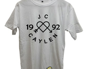 JC Caylen 1992 Shirt JC Caylen T-Shirt Black,White,Sportgrey,Red Maroon,Navy Blue