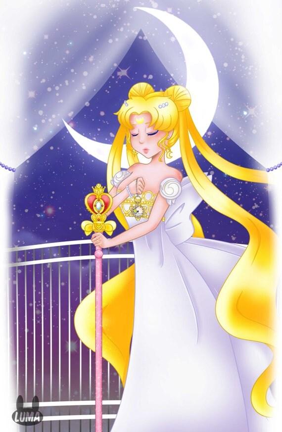 Princess Serenity 11X17