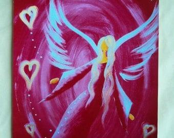 Angel art photo