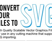 Convert your files to SVG