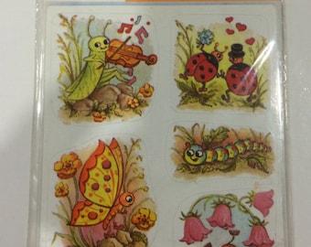 Vintage Germany Stickers-HERMA