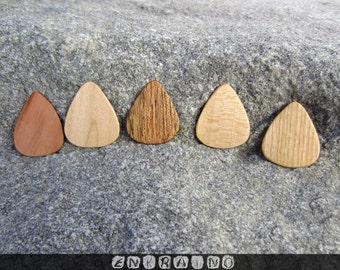 Custom 5 GUITAR PICKS/Guitar pick/Personalized guitar pick/Guitar picks personalized/Guitar pick custom/Wooden guitar pick/Wooden picks/Gift