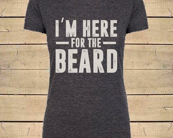 Beard Shirts, Country Shirts, Cody Jinks Shirt, Chris Stapleton Shirt, Beard Love, Womens Soft Blend (Fitted Style) Beard Quote T-Shirt