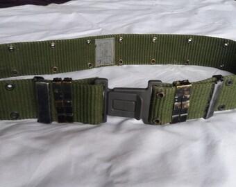 Vintage US Army Textile Belt