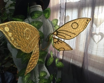 Yellow / Gold Training Fairy Wings