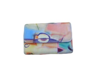SALE - 20% OFF abstract print vintage cigarette case