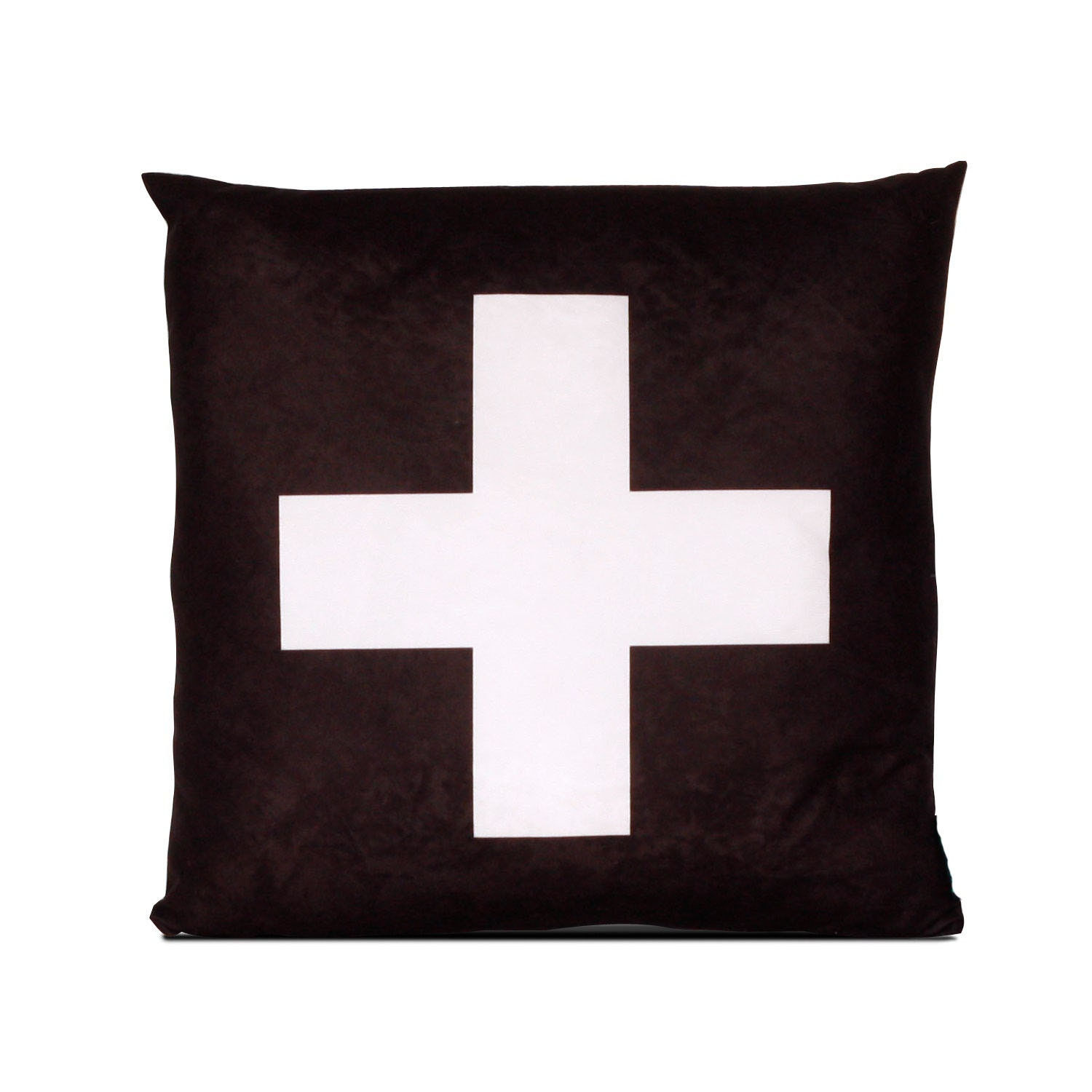 Decorative Pillows With Crosses : Decorative pillow Cross black