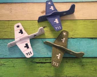Felt Plane -  Travel activity - Quiet activity for kids