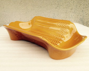 Vintage Asparagus Platter//Serving Platter//Italian Asparagus Platter// Found And Flogged