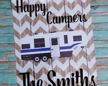 Garden Flag, Personalized 5th wheel camper flag, Custom Camping Flag, Banner material, RV outdoor decor, Campsite decor, very durable