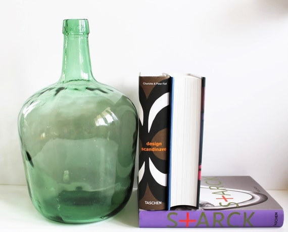 vintage 5l dame jeanne bottle viresa bottle by latelierdenanah. Black Bedroom Furniture Sets. Home Design Ideas