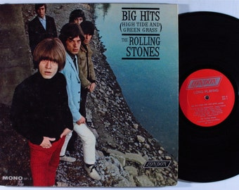 THE ROLLING STONES Big Hits (High Tide and Green Grass) Lp Vinyl Record