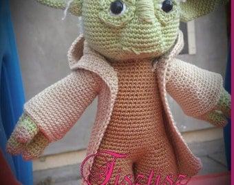 Yoda Amigurumi pattern