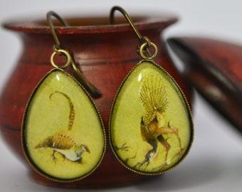Earrings - Bosch - The garden of delights