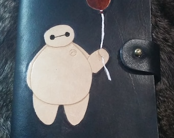 Baymax Leather Notebook Cover