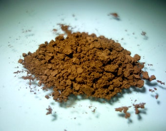 Matte Brown - 1oz - All natural vegan cruelty free pigment - Iron Oxide