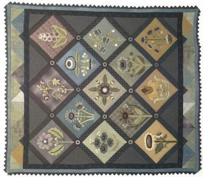 Quilt Pattern A Rainbow Garden