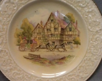 Royal Winton Grimwades Happy Days Hand Painted Plate
