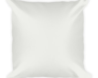 Decorative pillow (cover and insert) 18 '' x 18 ''