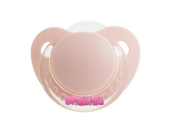 Adult Sized Pink Pacifier/Dummy For Adult Baby ABDL DDLG   Free Shipping WORLDWIDE